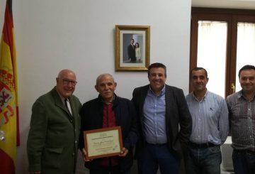 Reconocimiento a Francisco Varela, Encargado de CESPA S.A. en Tierras de Medina
