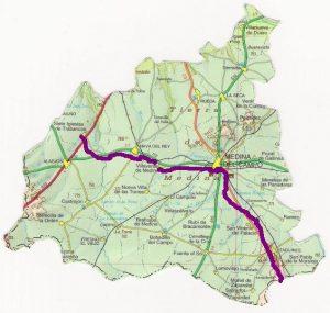 Camino de Levante a Santiago