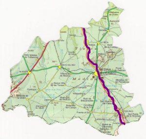 Camino del Sureste a Santiago