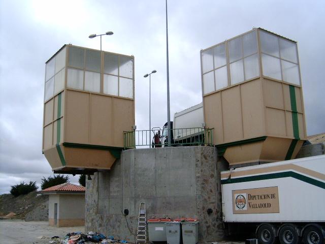 Planta de Transferencia - Servicios Central - Mancomunidad de Tierras de Medina