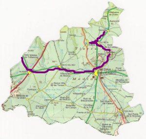 Ruta Provincial Tierras de Medina