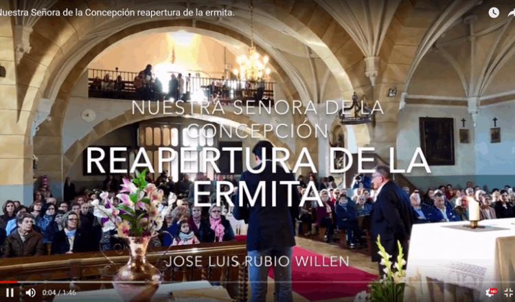Reapertura de la Ermita de la Concepción de Nava del Rey