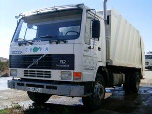 servicio de recogida y tratamiento de residuos  - Servicios Central - Mancomunidad de Tierras de Medina